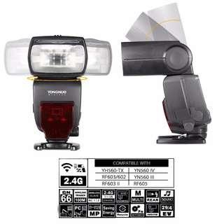 🛒Yongnuo YN660 Flash Light Speedlite for Canon Nikon DSLR Camera