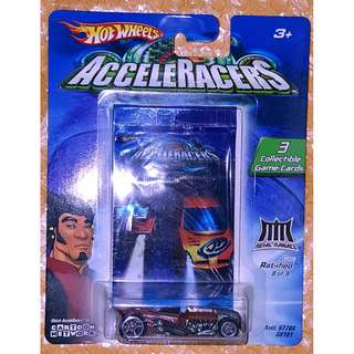 Hot Wheels Acceleracers Rat-ified , Team Metal Maniacs