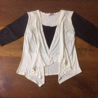 Import Bkk Leather Cardigan