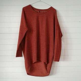 Orange Woollen Sweater