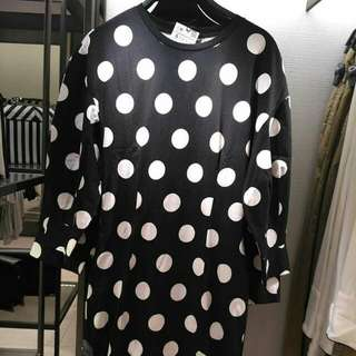 Polkadot Blouse By Zara Women
