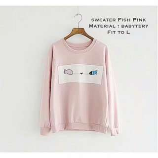 Sweater Motif Ikan