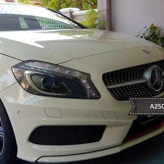 Wedding Car Rental (Mercedes A250)