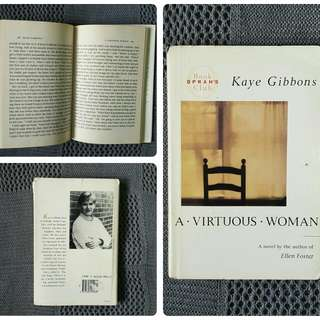 A Virtuous Woman by Kaye Gibbons (HARDBOUND)