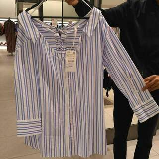 Stripe Blouse Zara Women