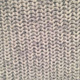 Tigerlily Chunky Knit Jumper blue/grey m