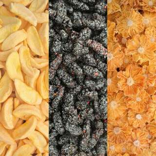 Dehydrated fruits with Natural Taste And High Fiber