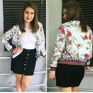 Bomber Jacket (Floral) ✨