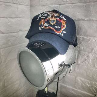 AVIREX 刺繡 Mesh Cap