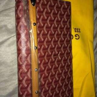 Goyard clutch bag