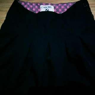Cherokee black skirt