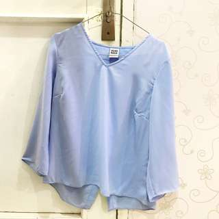 Long Sleeve Top w/ Cutouts on the Back