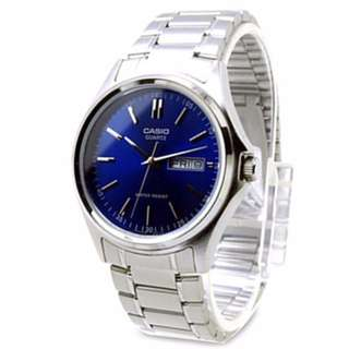 Casio MTP-1239D-2ADF Men's Watch Silver Strap
