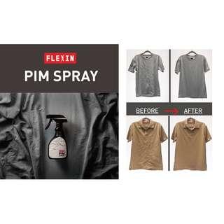 衣物除皺消臭噴霧 噴一噴、拉一拉,衣物香噴噴又無皺 FLEXIN PIM SPRAY 300ml