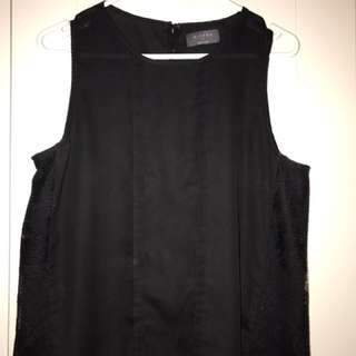 Black Sleeveless Tank
