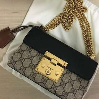 Gucci Padlock Authentic