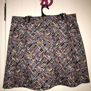Mosaic Pattern Skirt