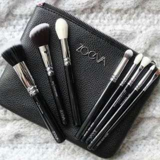 Zoeva Makeup Brush Bag (pink- Black)
