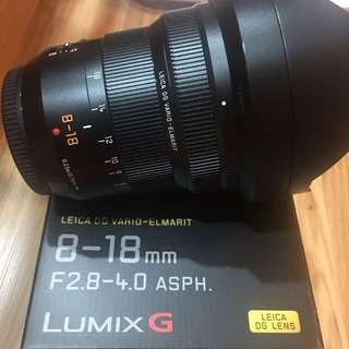 Panasonic Lumix 8-18mm F2.8-4.0