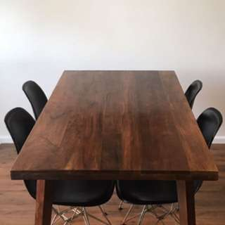 Solid Timber Table Brand New