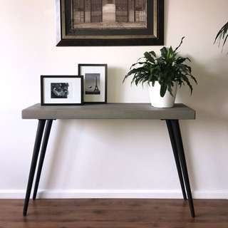 Concrete Finished Console Table