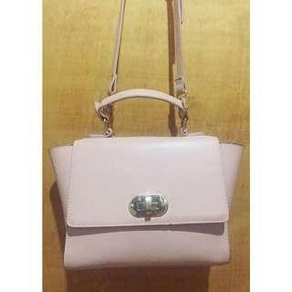 FOREVER21 Blush Pink Structured Bag