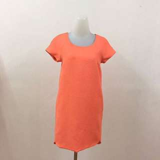 orange Cute Dress