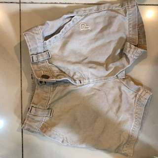 Baby Poney Khaki Short Pant