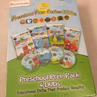 🚚 Preschool prep 幼兒美語DVD