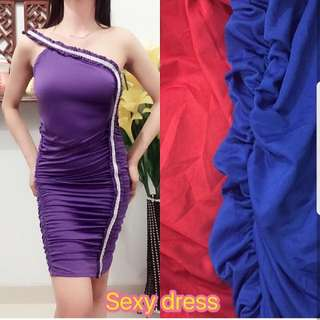 Masih BARU . sexy Dress . One Shoulder