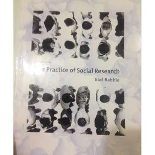🚚 The Practice of Social Research - Earl Bobbie 12th Edition
