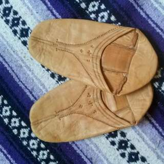 Soft Leather Slippers