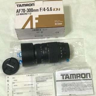 Tamron MACRO 1:2 AF 70-300 mm F/4-5.6 Di LD Lens