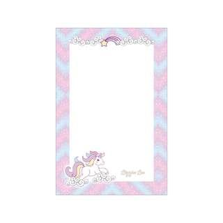 Personalized Notepads - Unicorn Pastel