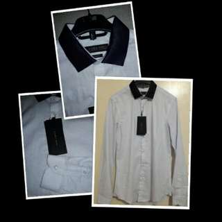 NEW ZARA MAN SLIM FIT SHIRT 100% ORIGINAL
