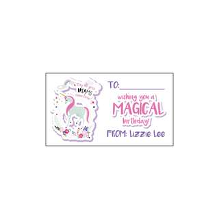 Personalized Gift Tags - Unicorn Dreams
