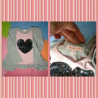 branded blouse for kids