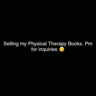 Physical Therapy Books (Read Description Please) :)