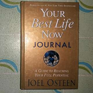 Your Best Life Now Journal By Joel Osteen
