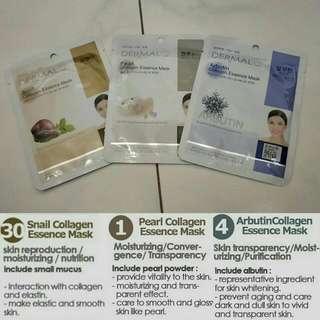 Korea - Dermal Collagen Essential Mask