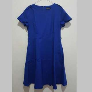 Executive Blue Dress