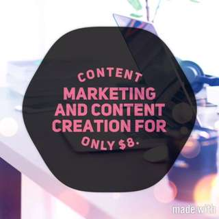 Business Services - Content Creation