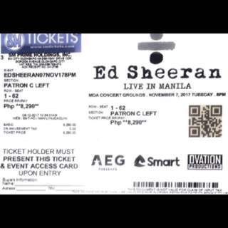 ED SHEERAN LIVE IN MNL