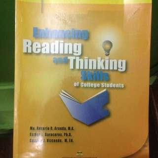 ENHANCING READING AND THINKING SKILLS