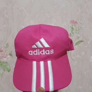 Topi Adidas Pink