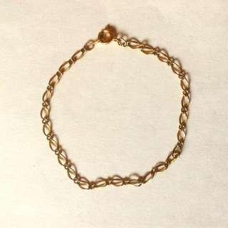 Fine Gold Chain Bracelet