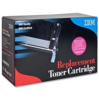 HP  and Canon Toner Cartridges by IBM. IBM Originals.