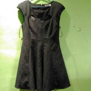 Black Dress By White/ Closet