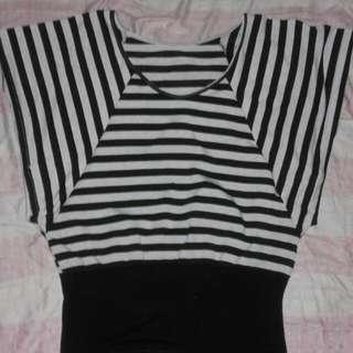 Stripe Styled Ladies Top