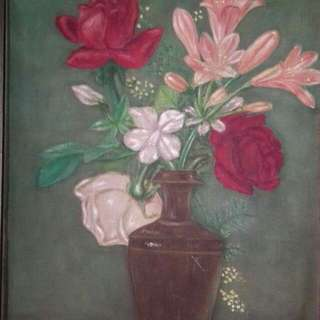 oil painting antique very nice to collect